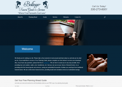 Bollinger Funeral Goods and Services
