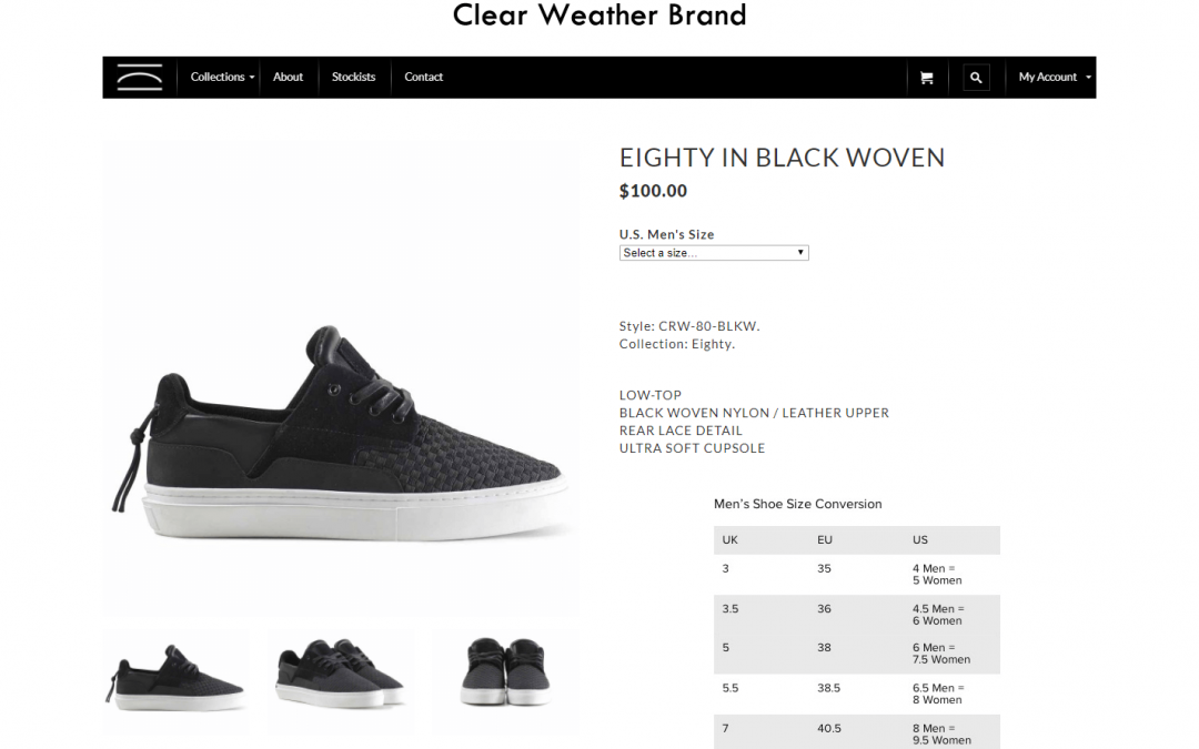 Clear Weather Brand