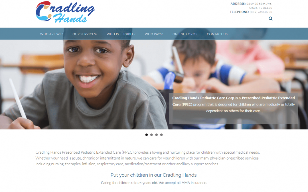 Cradling Hands Pediatric Care Corp
