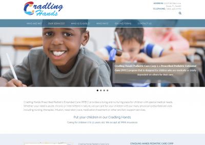 Cradling Hands Pediatric Care Corp