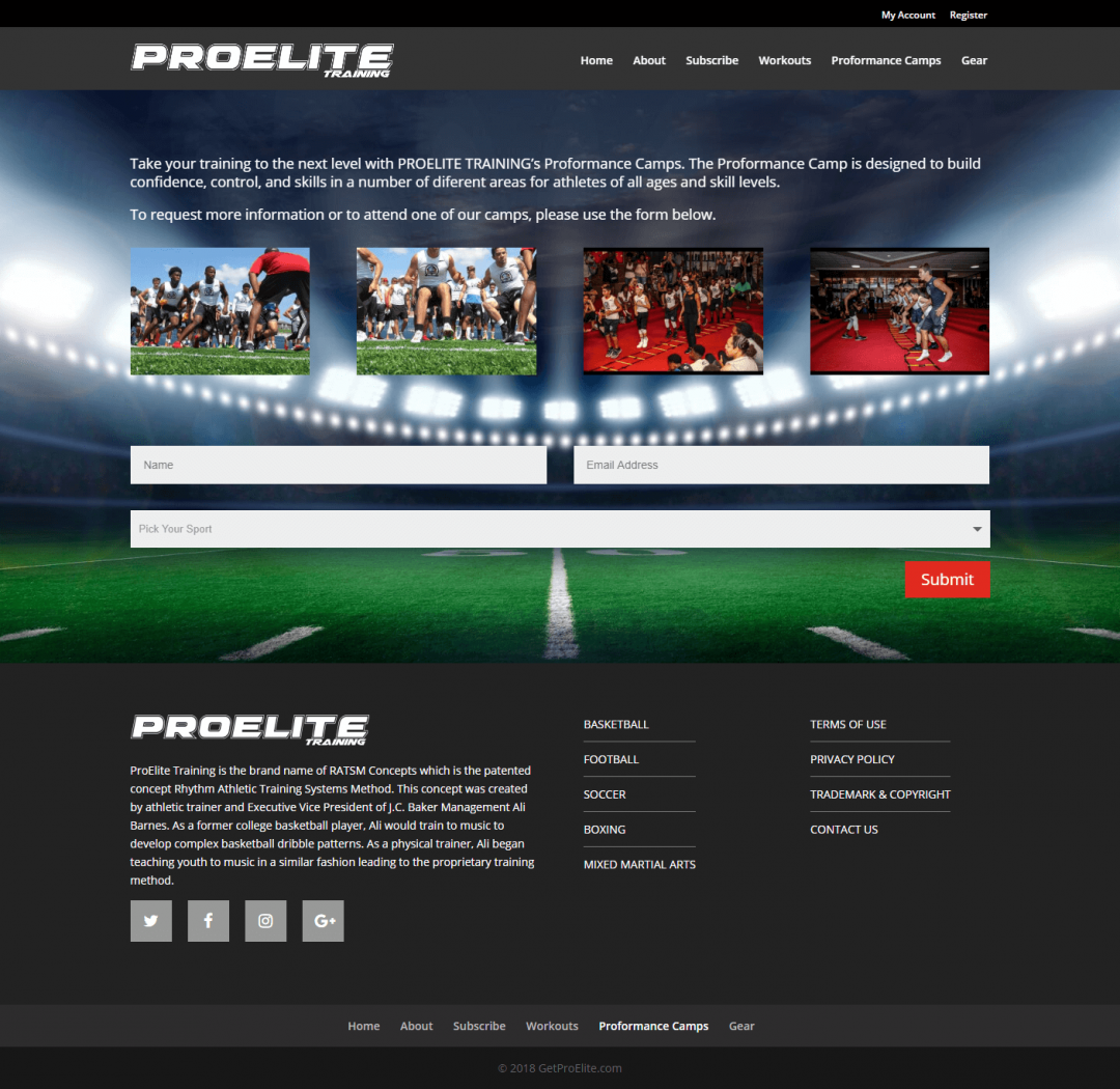 ProElite Training