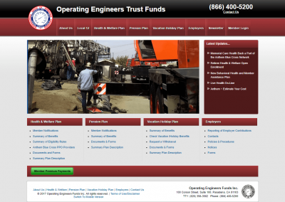 Operating Engineers Funds Inc