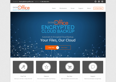 Encrypted Cloud Backup