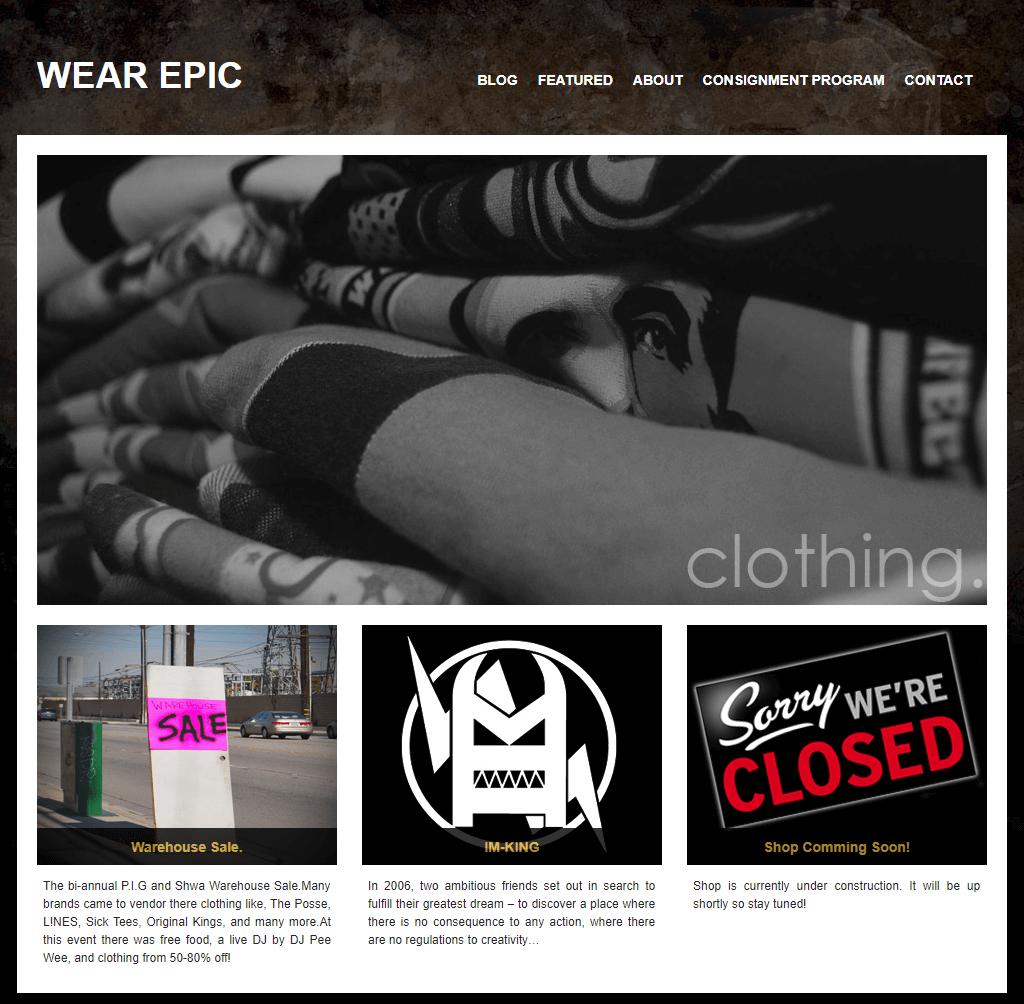 Wear Epic